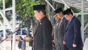 Inspektur Upacara (Irup) Walikota Manado DR Ir GS Vicky Lumentut
