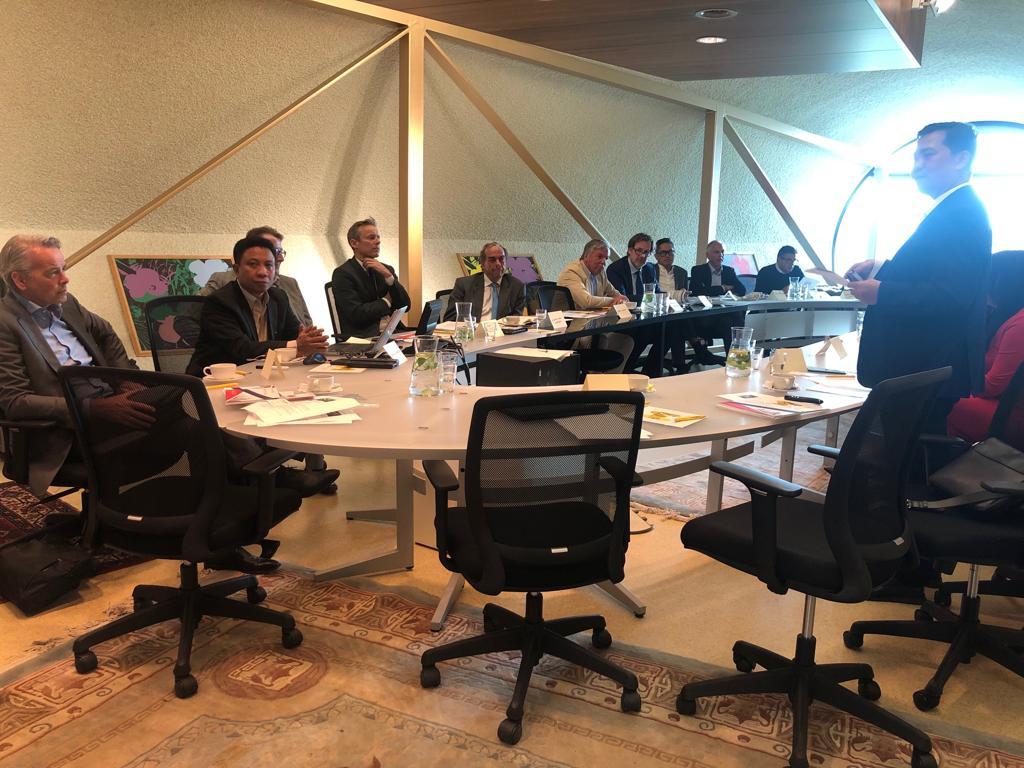 Kunker Di Belanda, Wagub Kandouw Presentasi Didepan 15 Investor Papan Atas Eropa