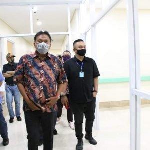 Bertambanya RS Yang Bisa Melayani 50 Pasien Covid 19 Jadi Perhatian Khusus Gubernur Olly