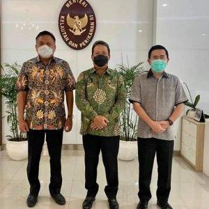 Temui Menteri KKP Trenggono, Gubernur Olly Bahas Industri Perikanan Sulut